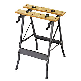 Workmate Foldable Vice Jaw Clamp Workbench, (W)620mm