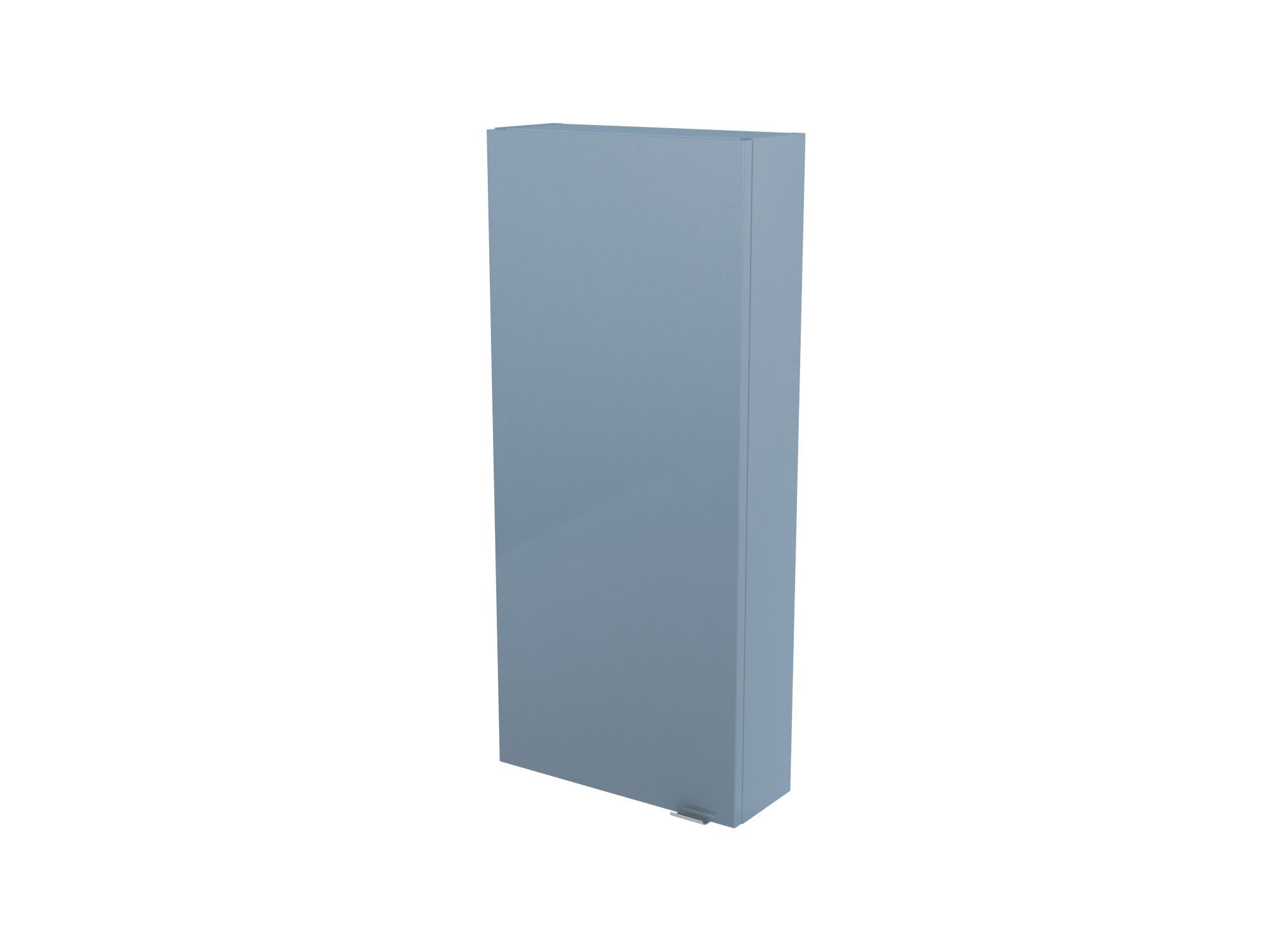 Cooke & Lewis Imandra Gloss Blue Wall Cabinet, (w)400mm