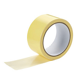 Diall White Double Sided Tape (L)10M (W)50mm