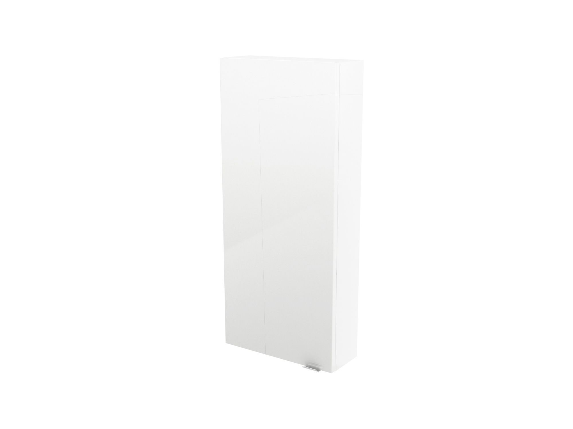 Cooke & Lewis Imandra Gloss White Wall Cabinet, (w)400mm