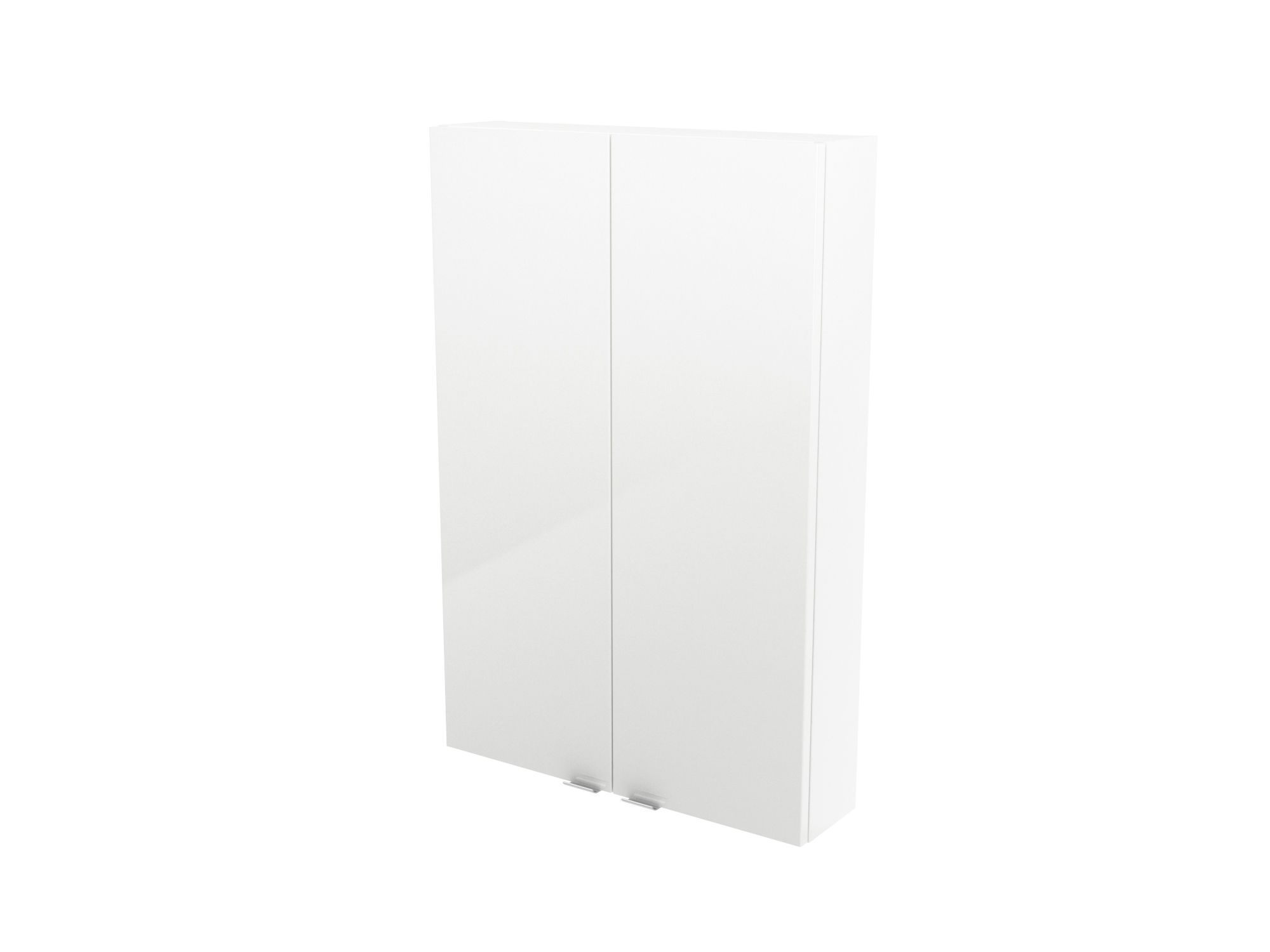 Cooke & Lewis Imandra Gloss White Wall Cabinet, (w)600mm