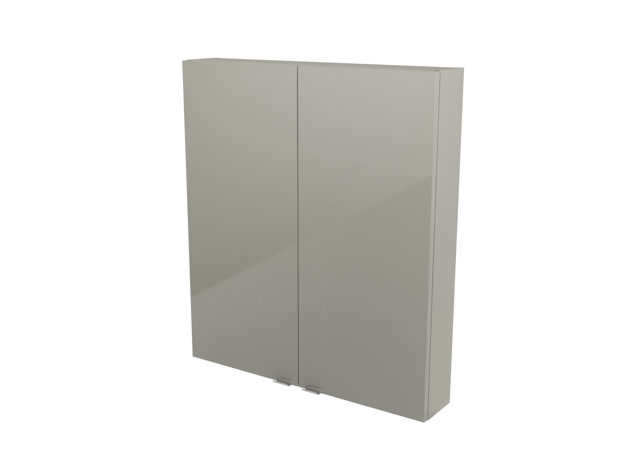 Cooke & Lewis Imandra Gloss Taupe Wall Cabinet, (w)800mm