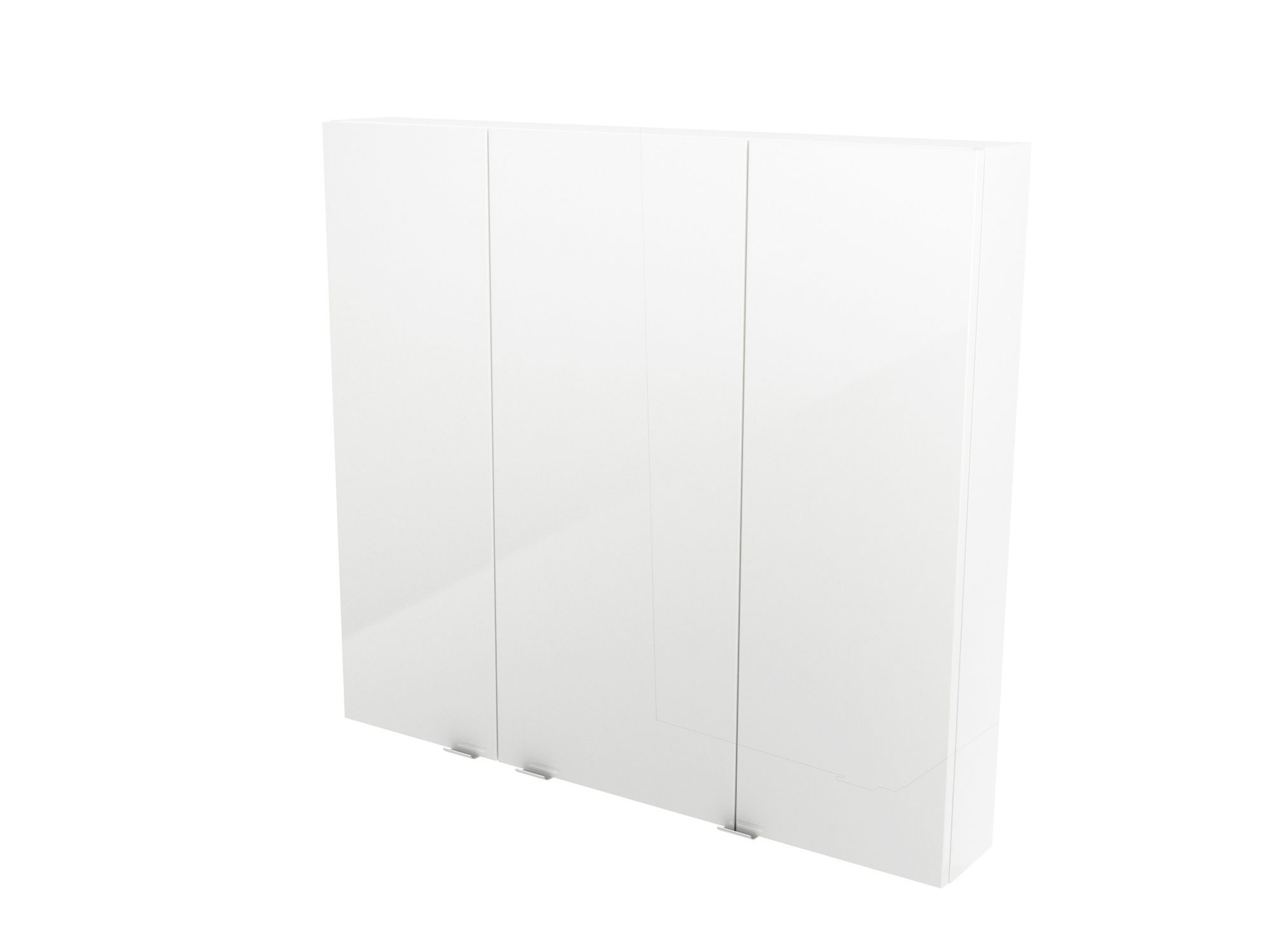 Cooke & Lewis Imandra Gloss White Wall Cabinet, (w)1000mm