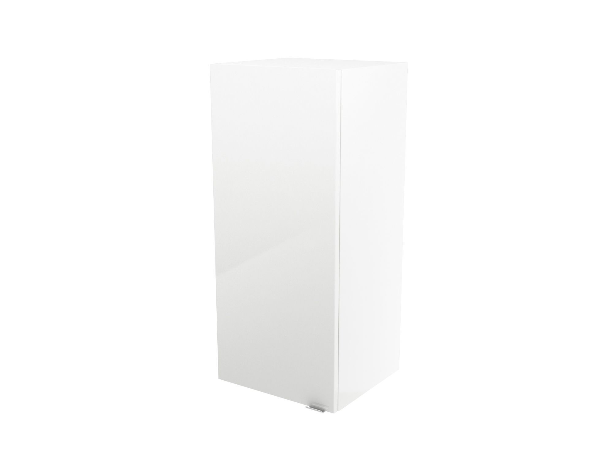 Cooke & Lewis Imandra Gloss White Deep Wall Cabinet, (w)400mm