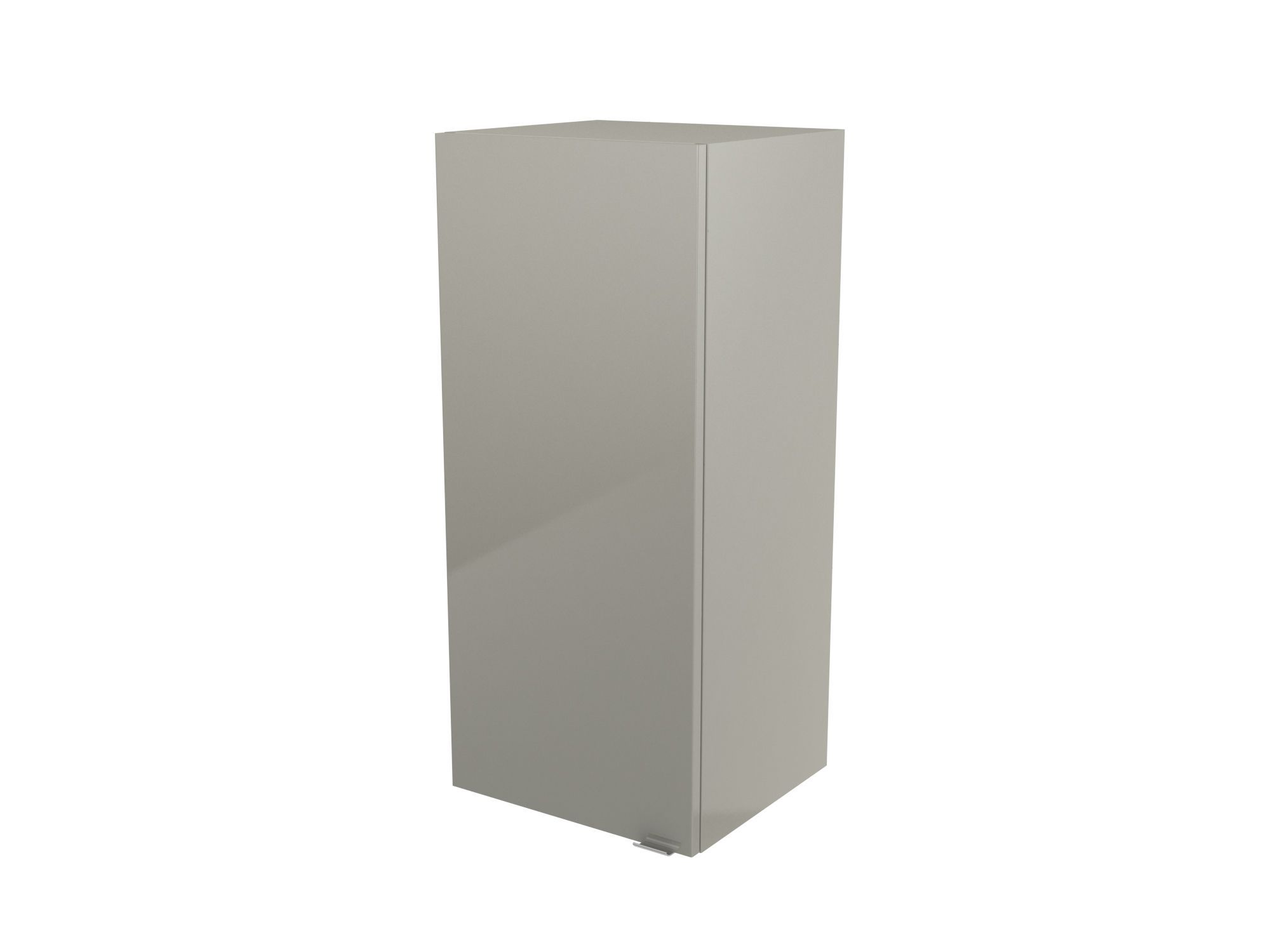 Cooke & Lewis Imandra Gloss Taupe Deep Wall Cabinet, (w)400mm