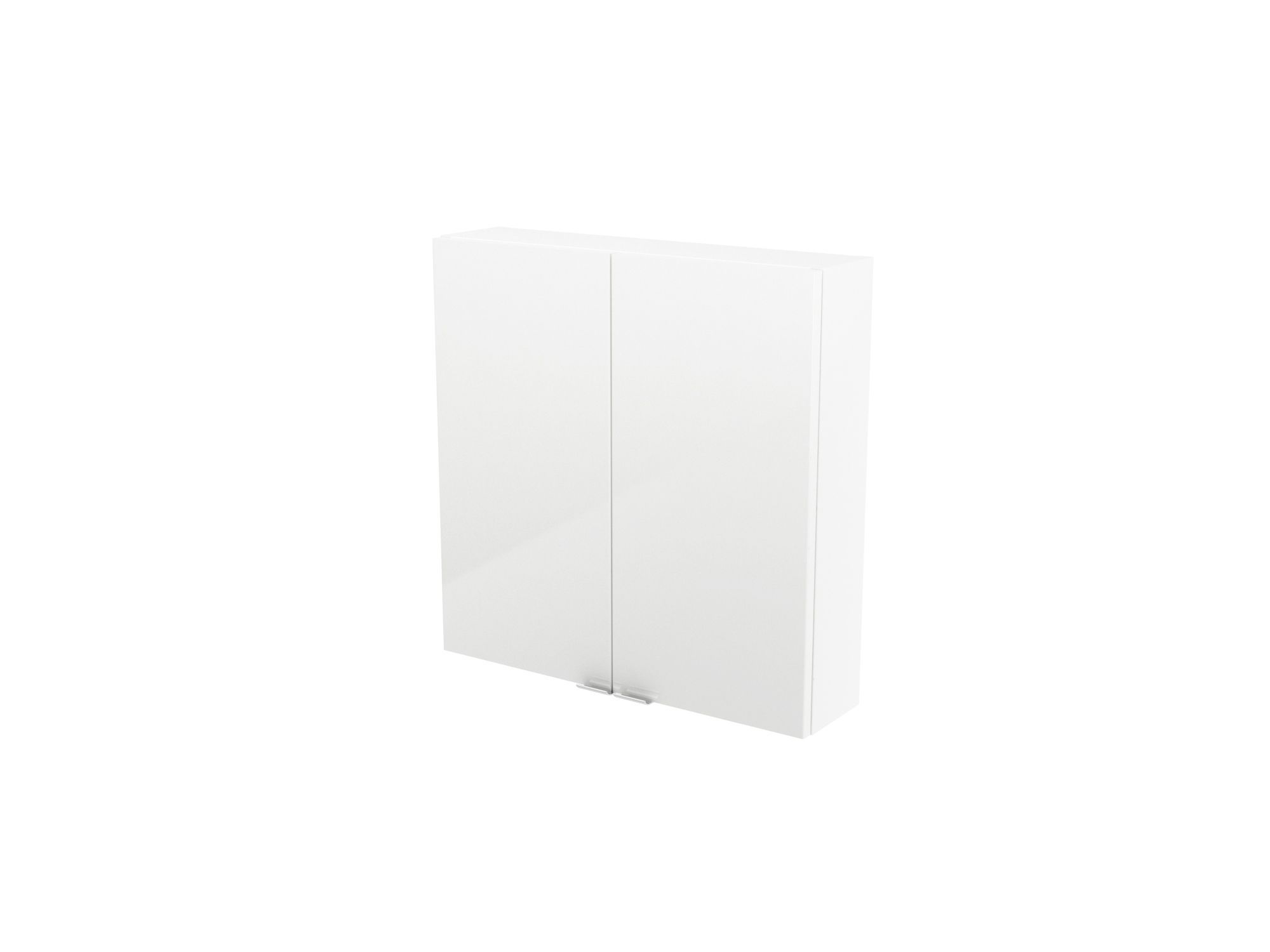 Cooke & Lewis Imandra Gloss White Short Wall Cabinet, (w)600mm