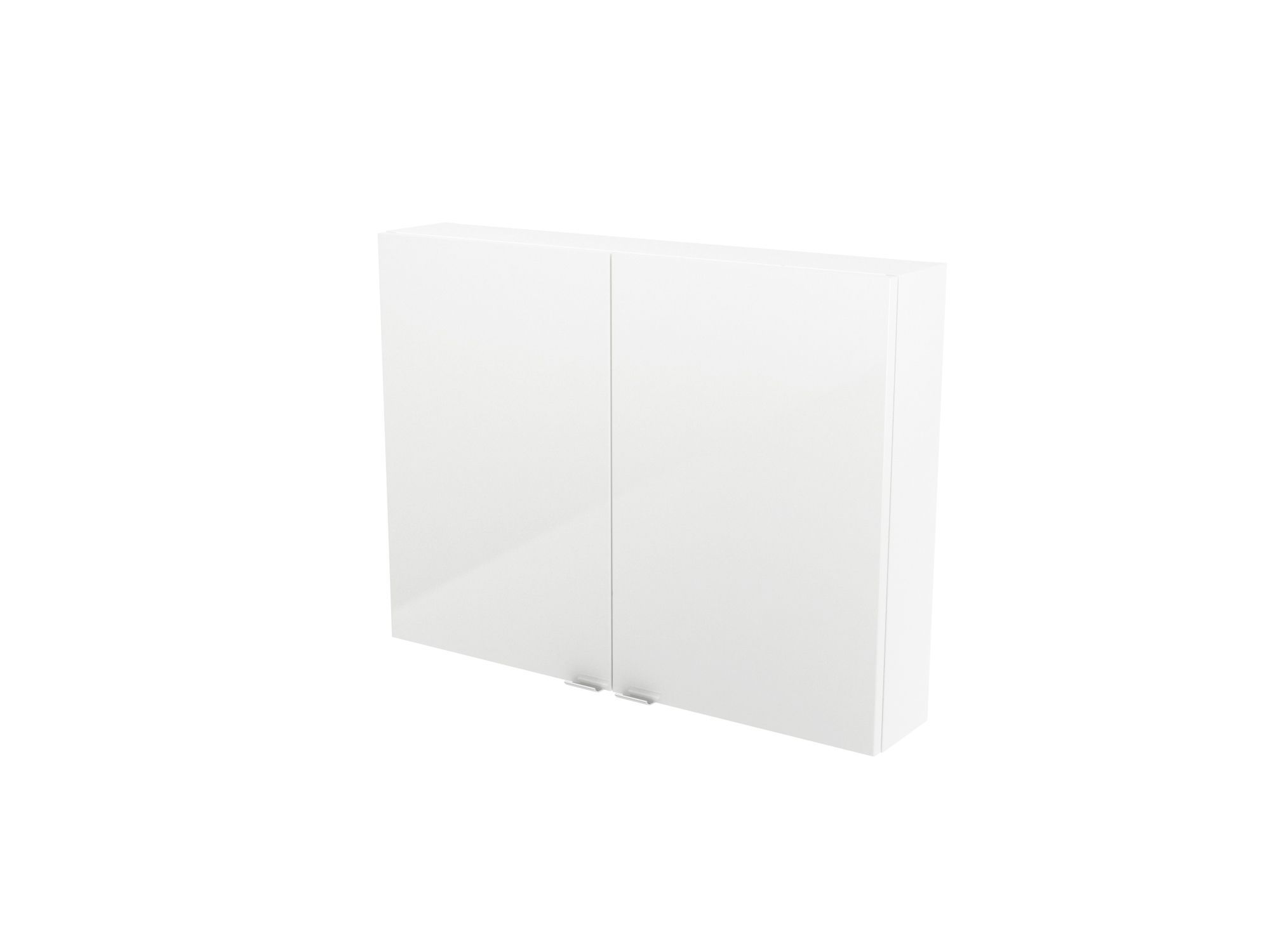Cooke & Lewis Imandra Gloss White Short Wall Cabinet, (w)800mm