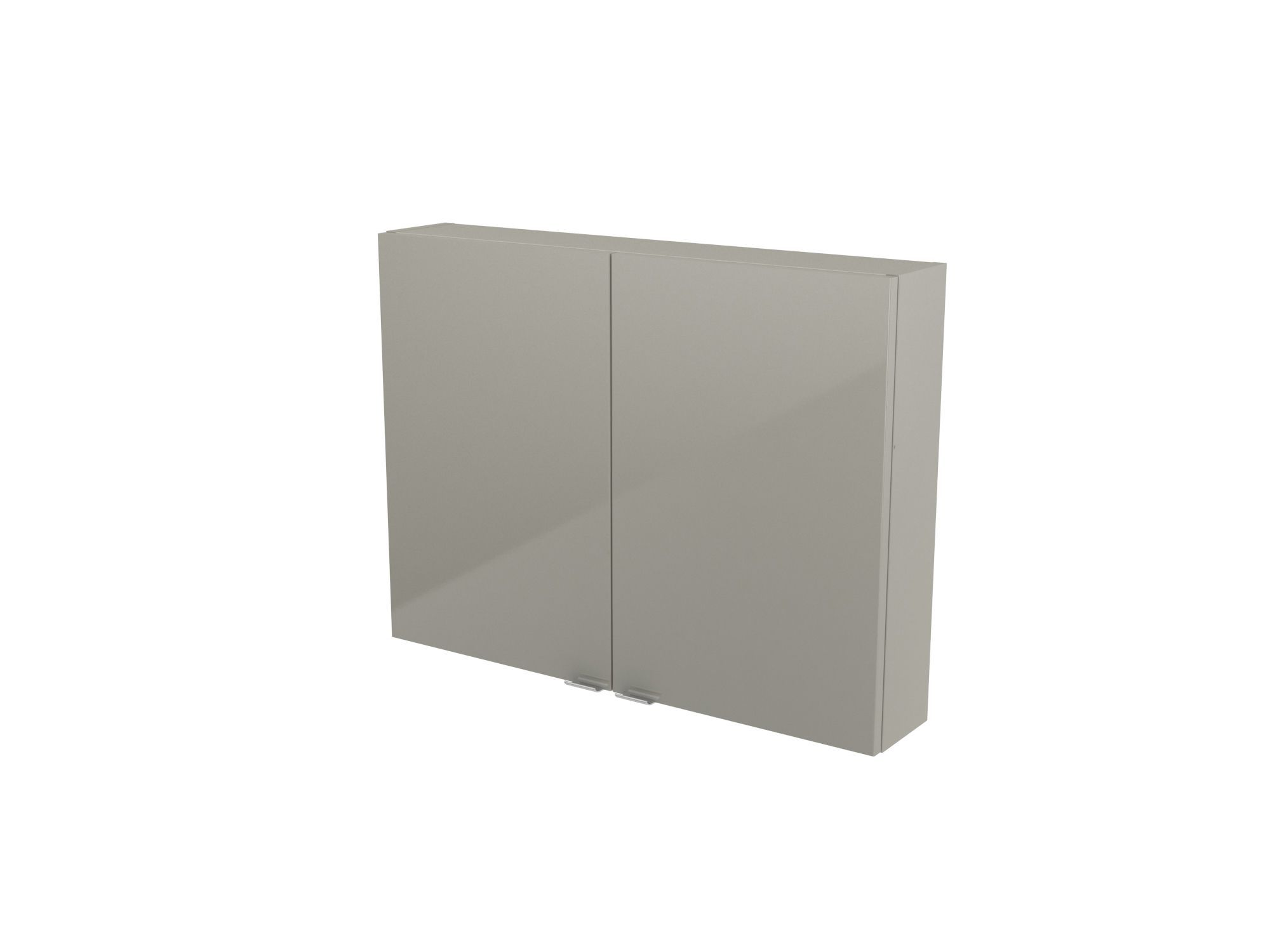 Cooke & Lewis Imandra Gloss Taupe Short Wall Cabinet, (w)800mm