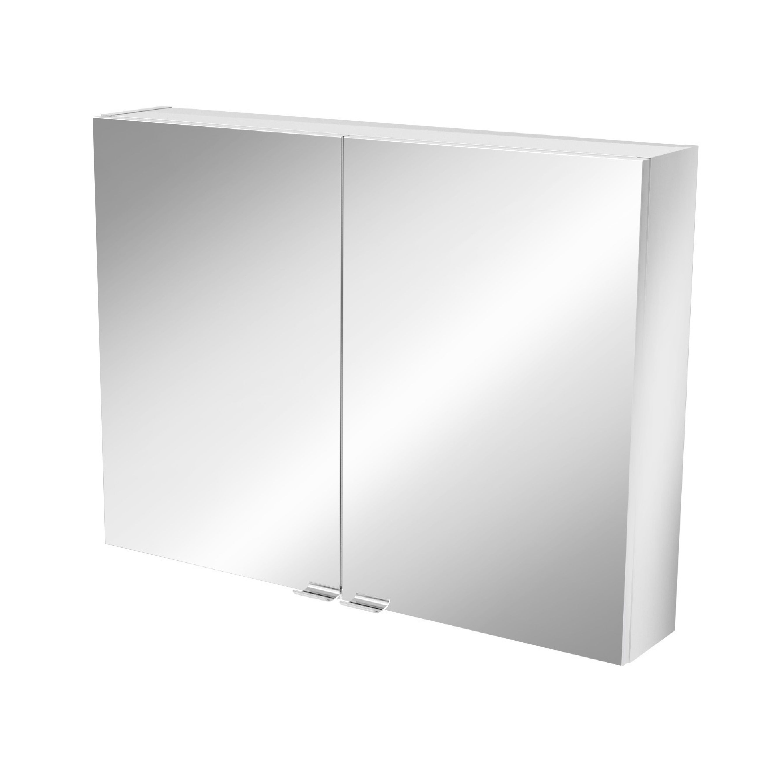 Cooke & Lewis Imandra Short Mirrored Wall Cabinet, (w)800mm