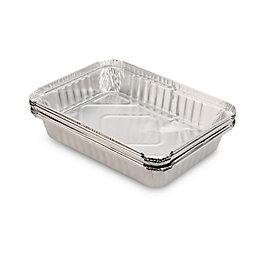 Blooma Aluminium Foil Trays, Pack of 5
