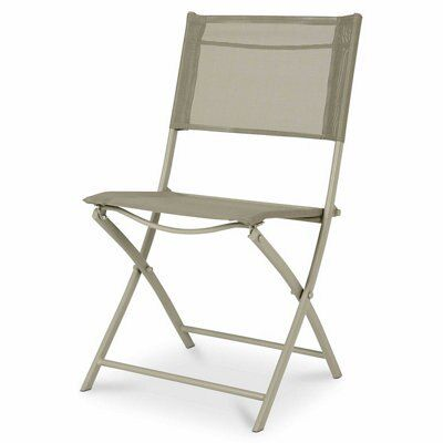 Saba Clay Green Metal Bistro Chair