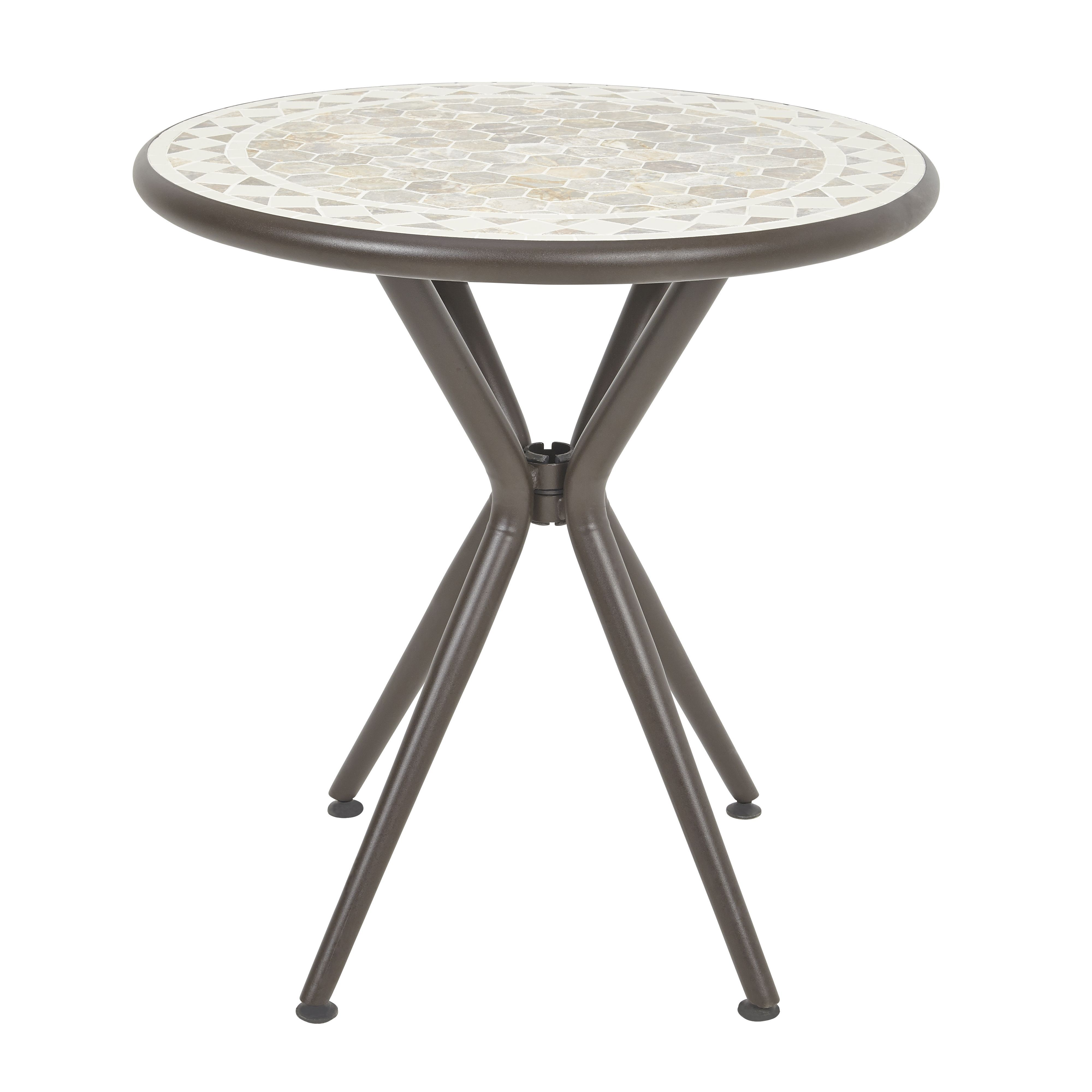 . Sofia Metal 2 Seater Bistro Table   Departments   DIY at B Q