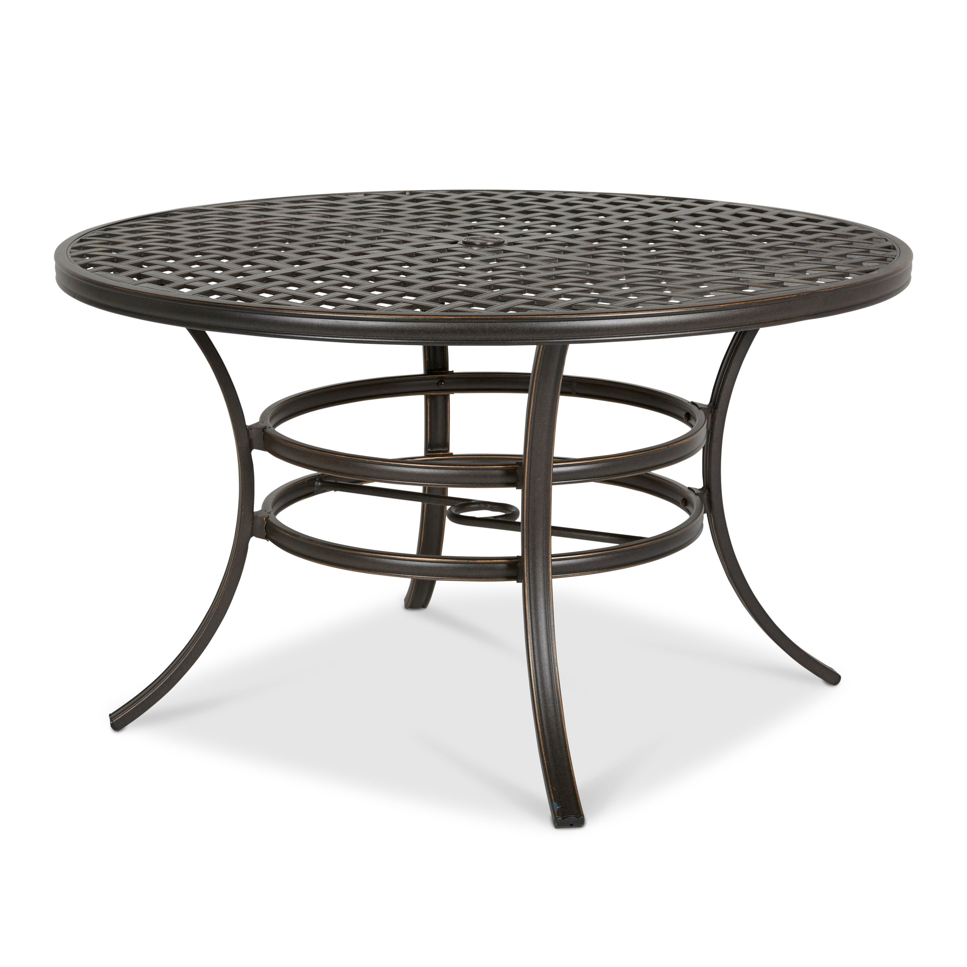 ripley metal 6 seater dining table departments diy at b q