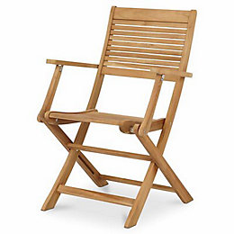 Roscana Wooden Armchair, Pack of 2