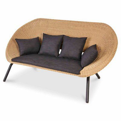 loa rattan sofa departments diy at b q. Black Bedroom Furniture Sets. Home Design Ideas