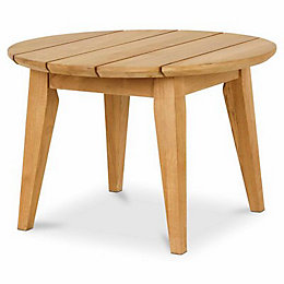 Adonia Wooden Side Table, (W)600 mm