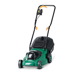 B&Q 1300 W 360 mm Corded Rotary Lawnmower