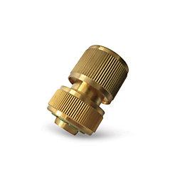 Verve Brass Quick Hose Connector
