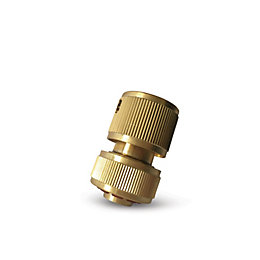 Verve Brass Aquastop Hose & Connector