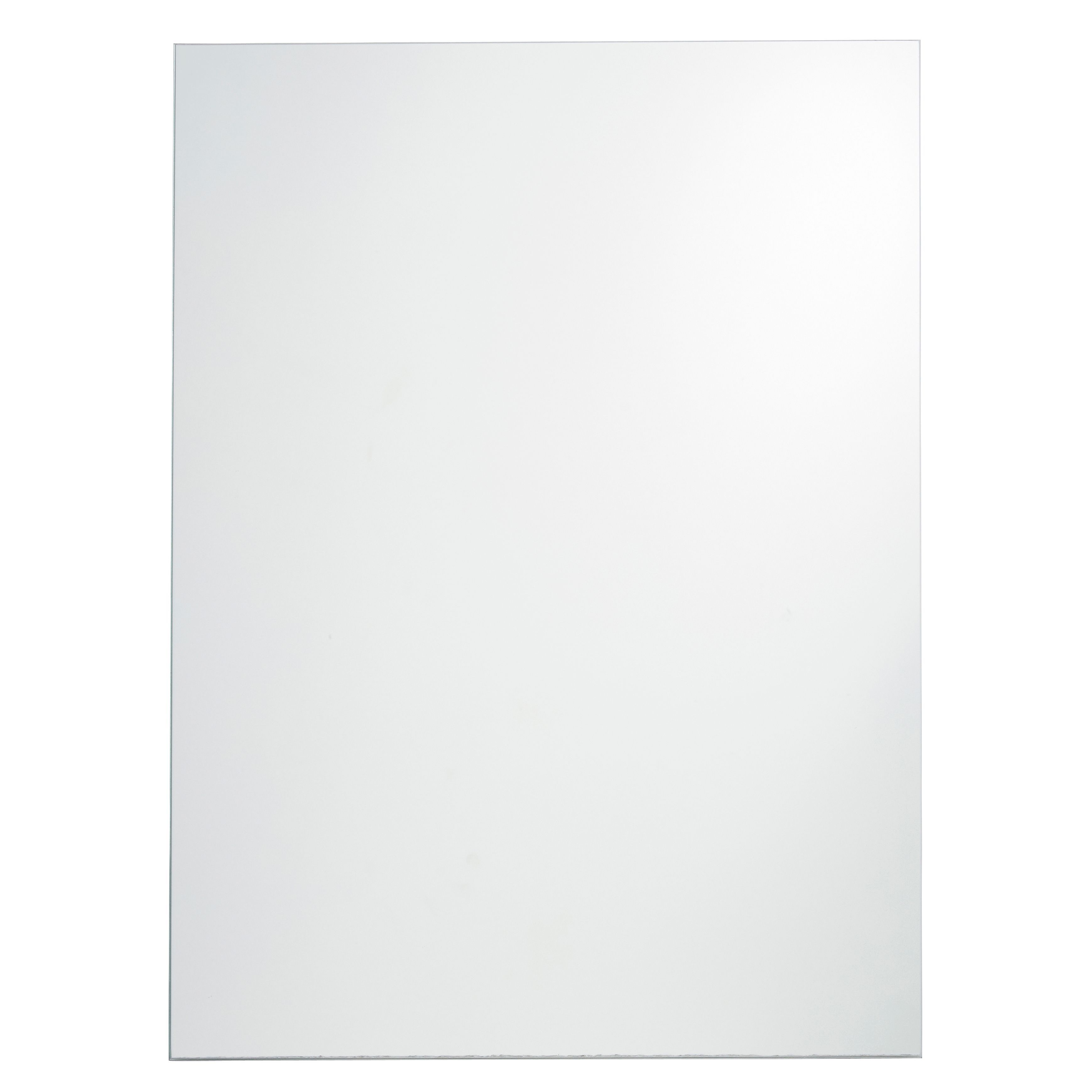 Cooke and lewis bathroom mirrors - Cooke Lewis Dunnet Rectangular Mirror W 450mm H 600mm