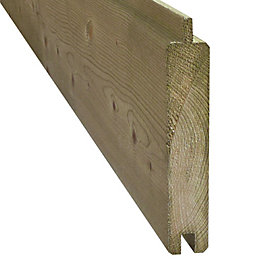 Blooma Neva Wooden Fence Slat (W)1790mm (H)132mm