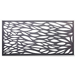 Blooma NEVA Aluminium Decorative 1/2 Panel (W)1790mm (H)880mm
