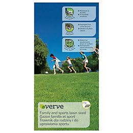 Verve Family & Sports Lawn Seed 10kg