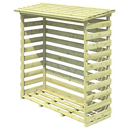Beni Wooden Outdoor Log Storage Medium