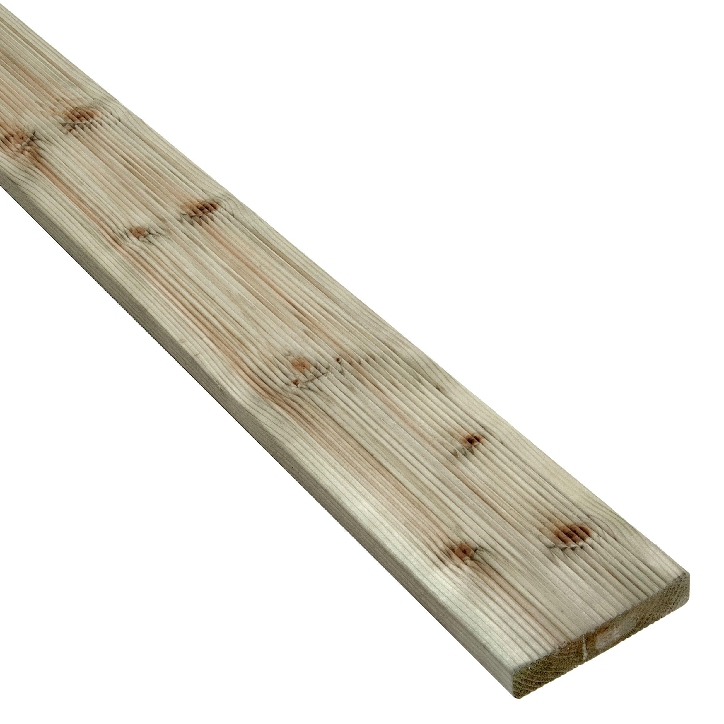 Blooma Nevou Premium Spruce Deck Board (t)27mm (w)144mm (l)4800mm
