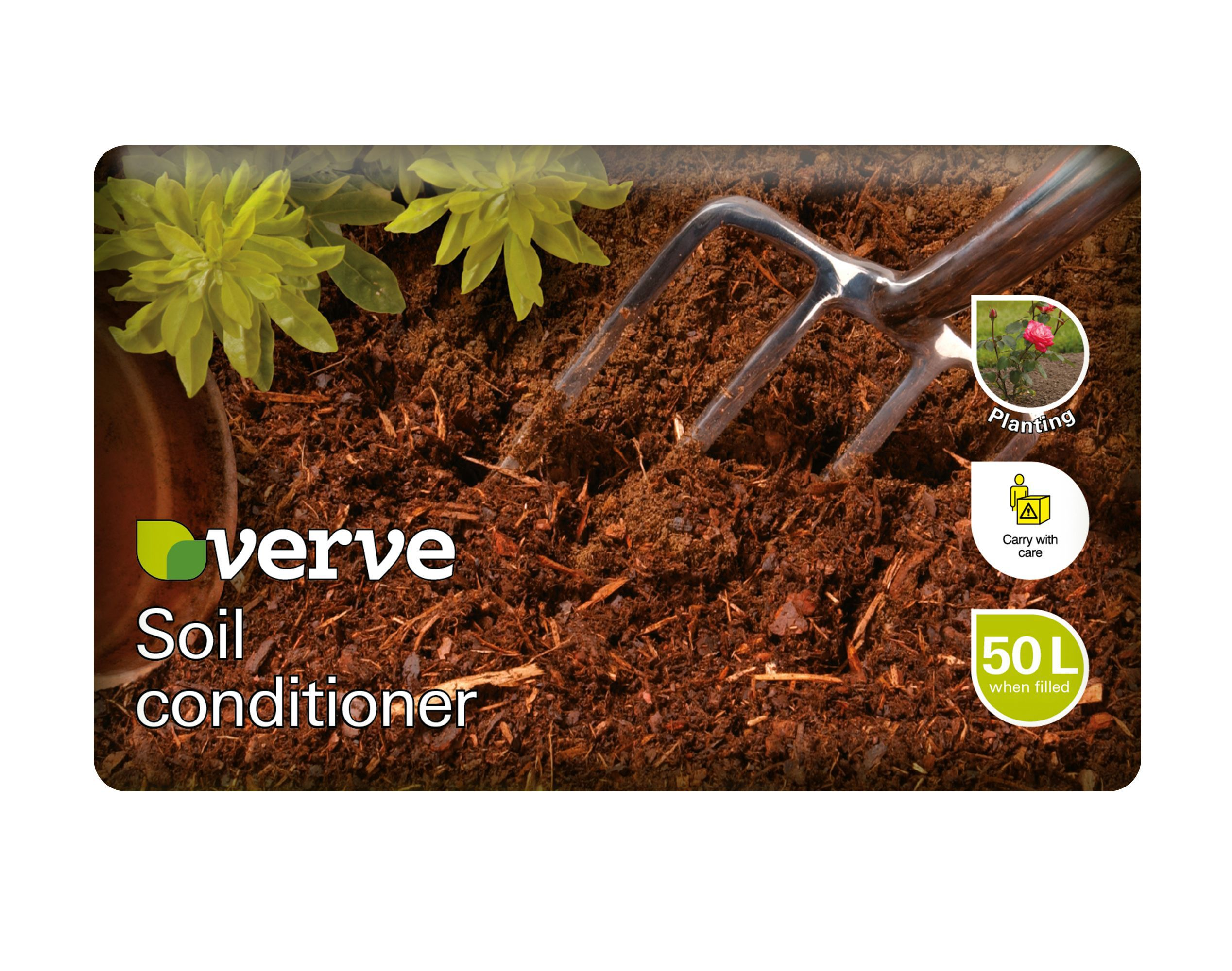 verve soil improver 50l departments diy at b q. Black Bedroom Furniture Sets. Home Design Ideas