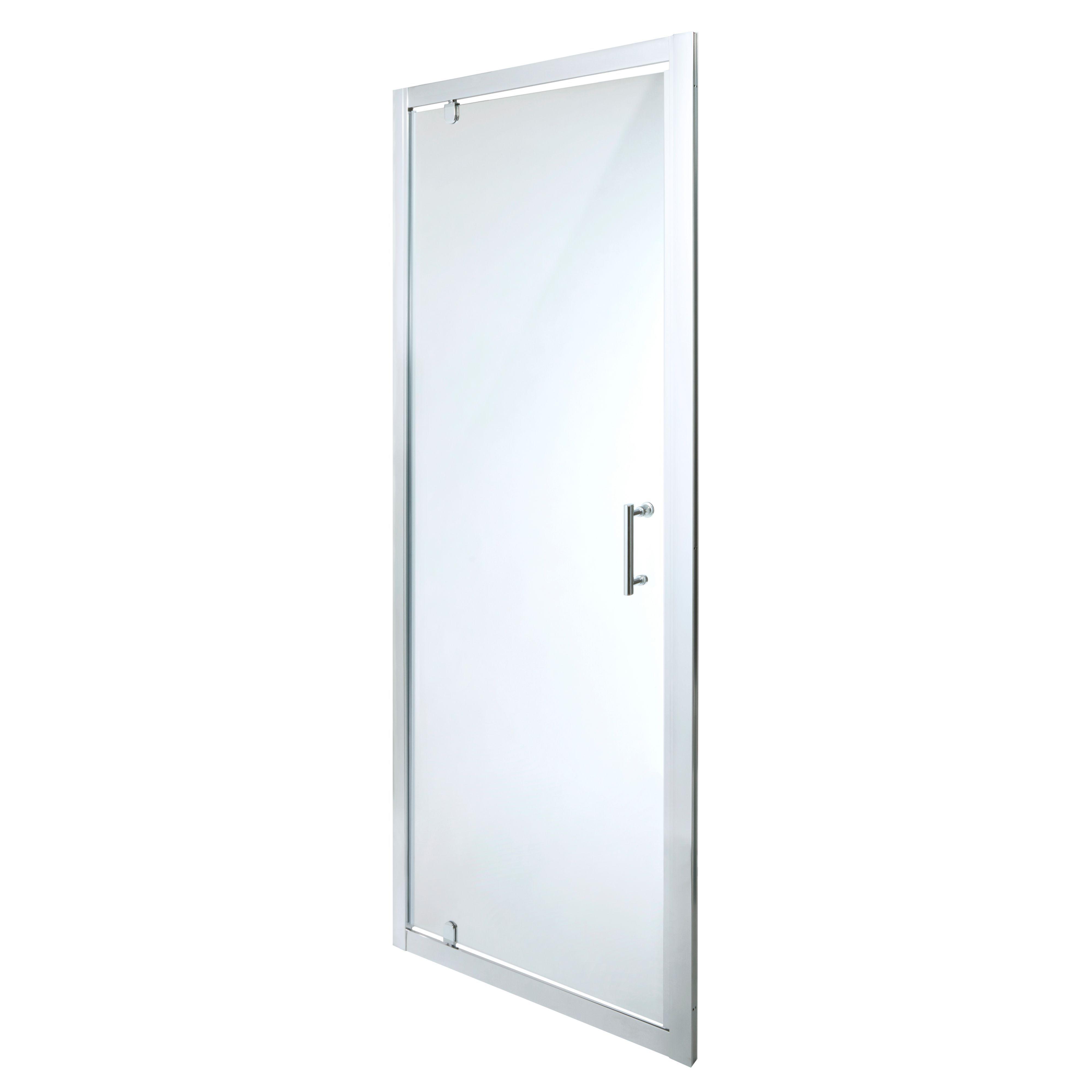 Cooke & Lewis Onega Pivot Shower Door (w)760mm
