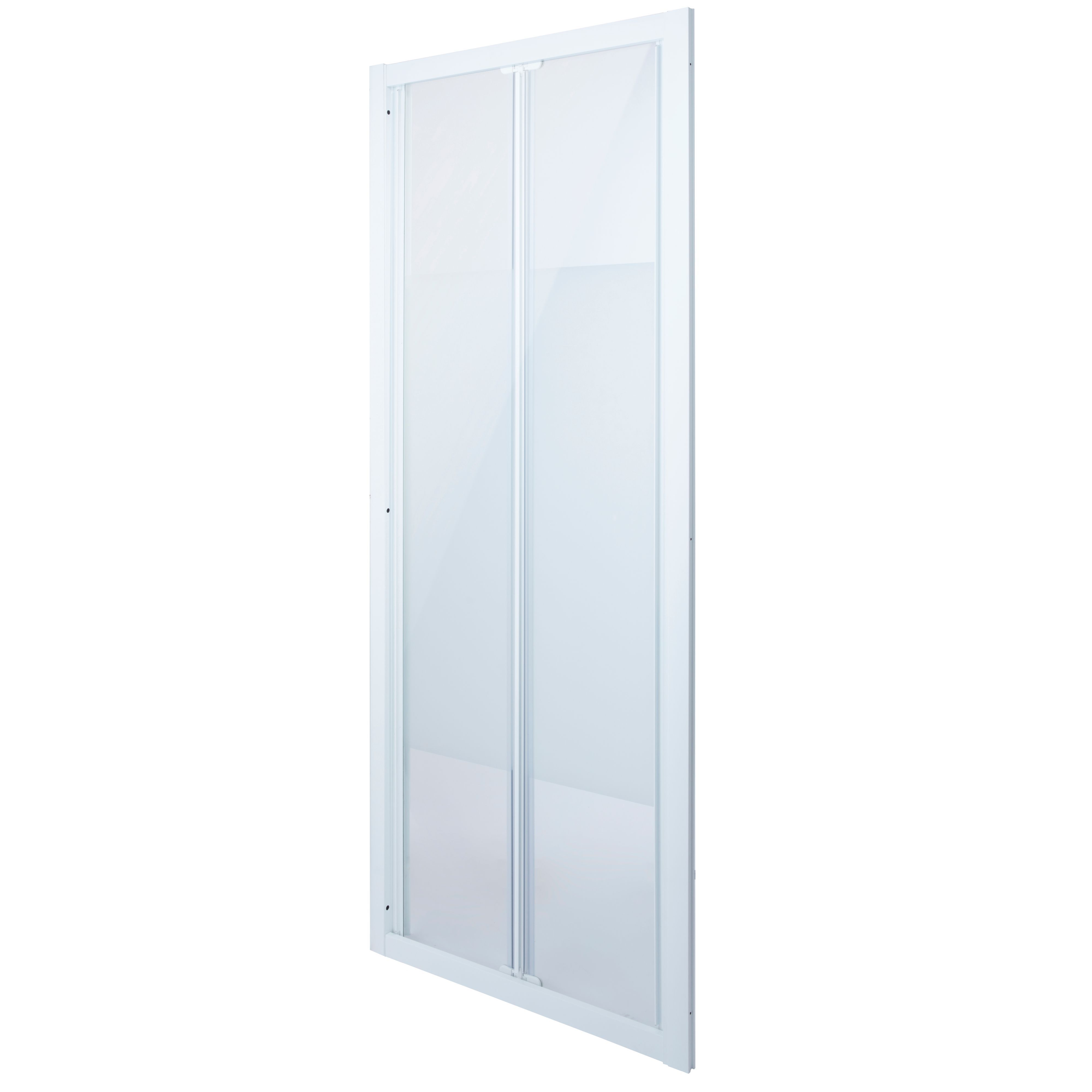 Cooke & Lewis Onega Bi-fold Shower Door With Frosted Effect Glass (w)760mm