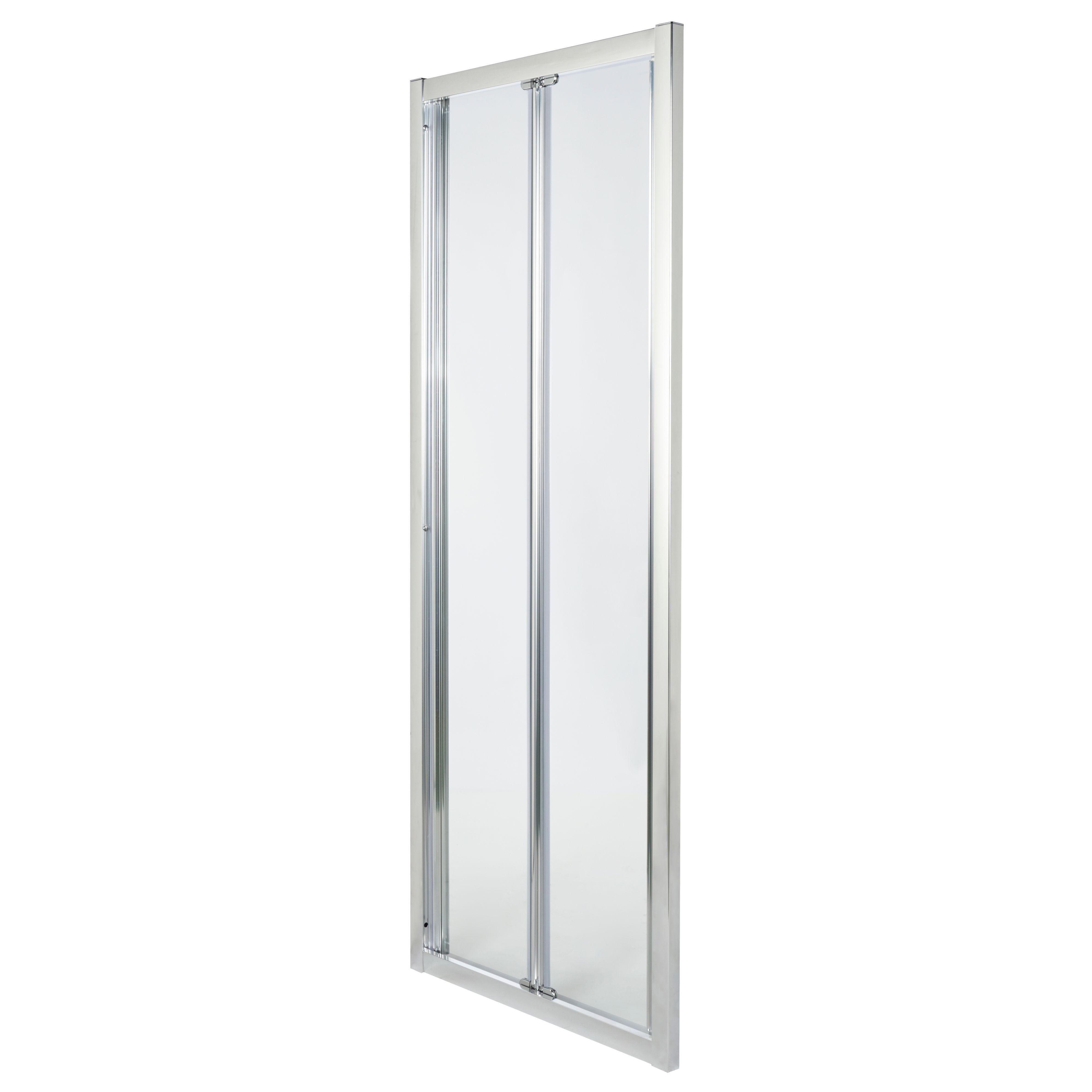 Cooke & Lewis Onega Bi-fold Shower Door (w)760mm