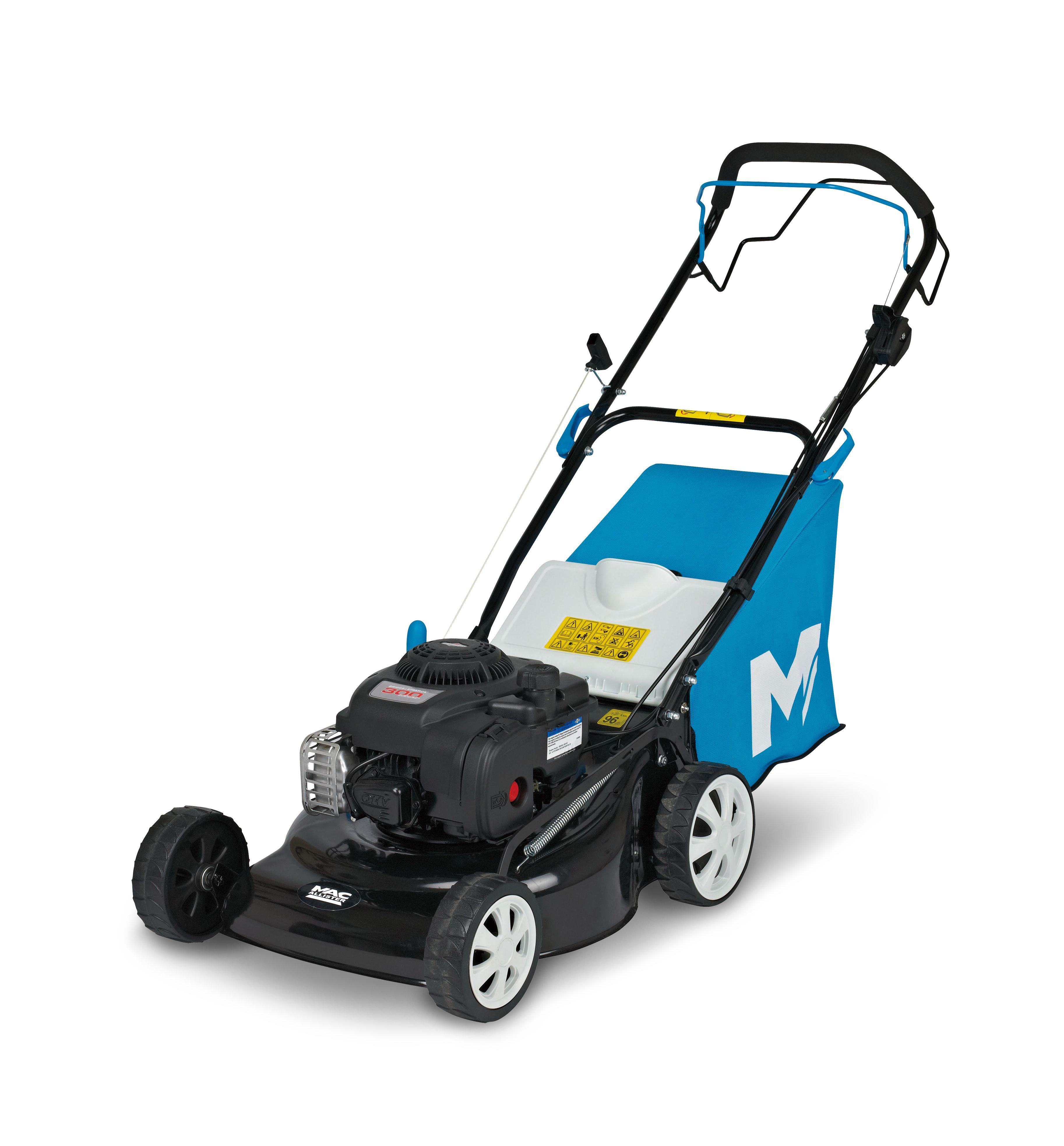 mac allister 125 cc 460mm petrol lawnmower departments. Black Bedroom Furniture Sets. Home Design Ideas