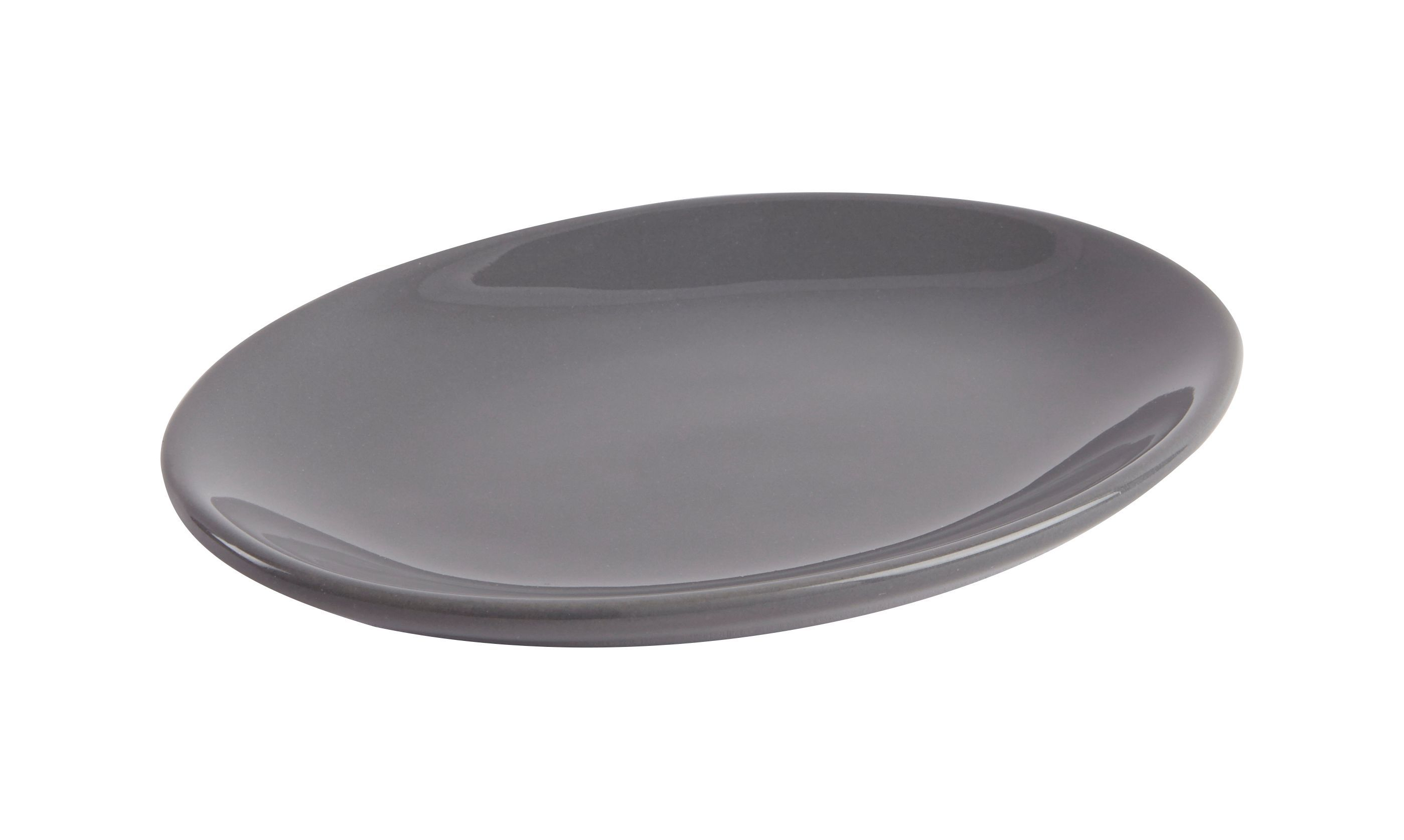 Cooke & Lewis Diani Anthracite Gloss Soap Dish