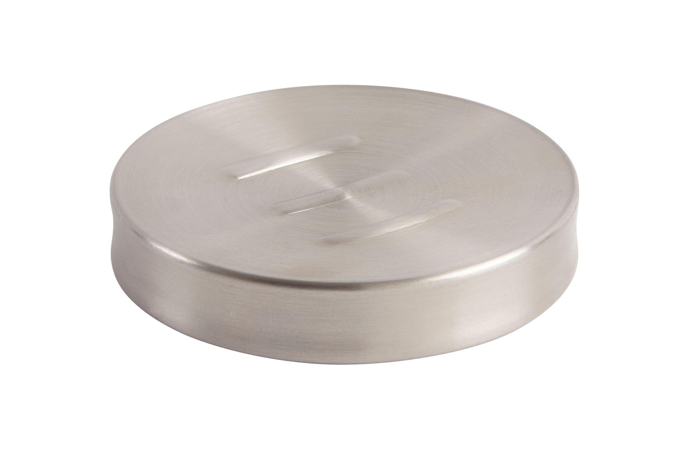 Cooke & Lewis Metal Brushed Effect Soap Dish