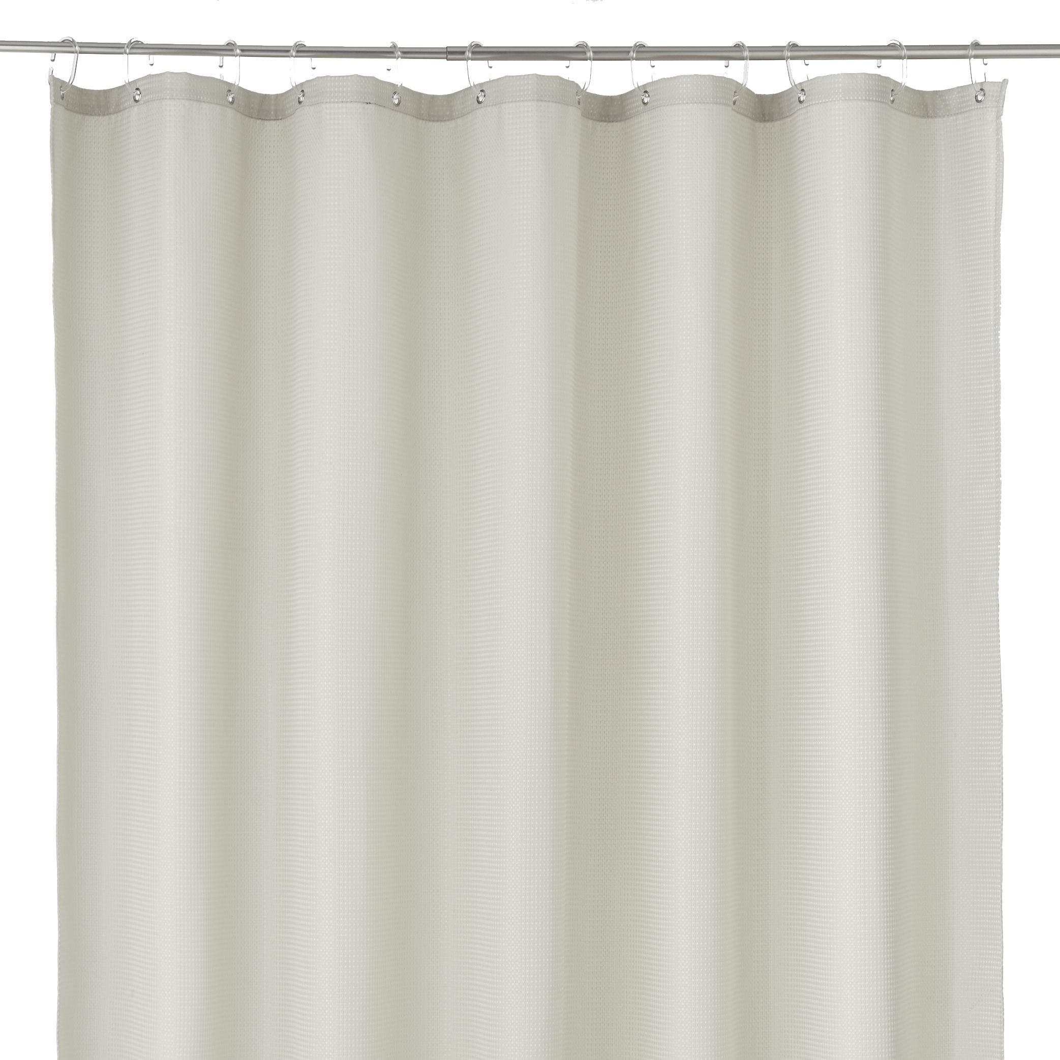 Cooke & Lewis Cecina Mastic Waffle Shower Curtain (l)1800 Mm