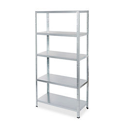 Form Axial Galvanised Shelf Unit (H)1800mm (W)900mm