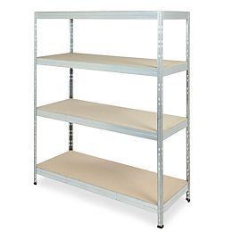 Form Exa Galvanised Shelf Unit (H)1800mm (W)1500mm