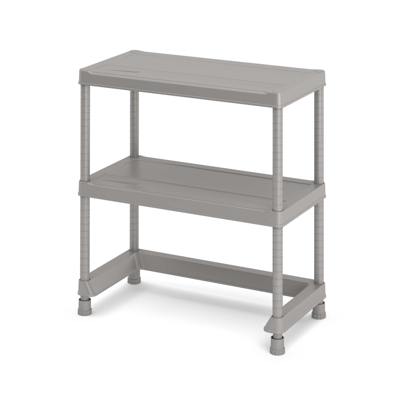Form Major Light Grey & Matt Shelving Unit (h)970mm (w)900mm