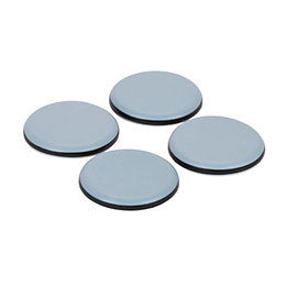 B&Q Black & Grey PTFE Glide with Glue