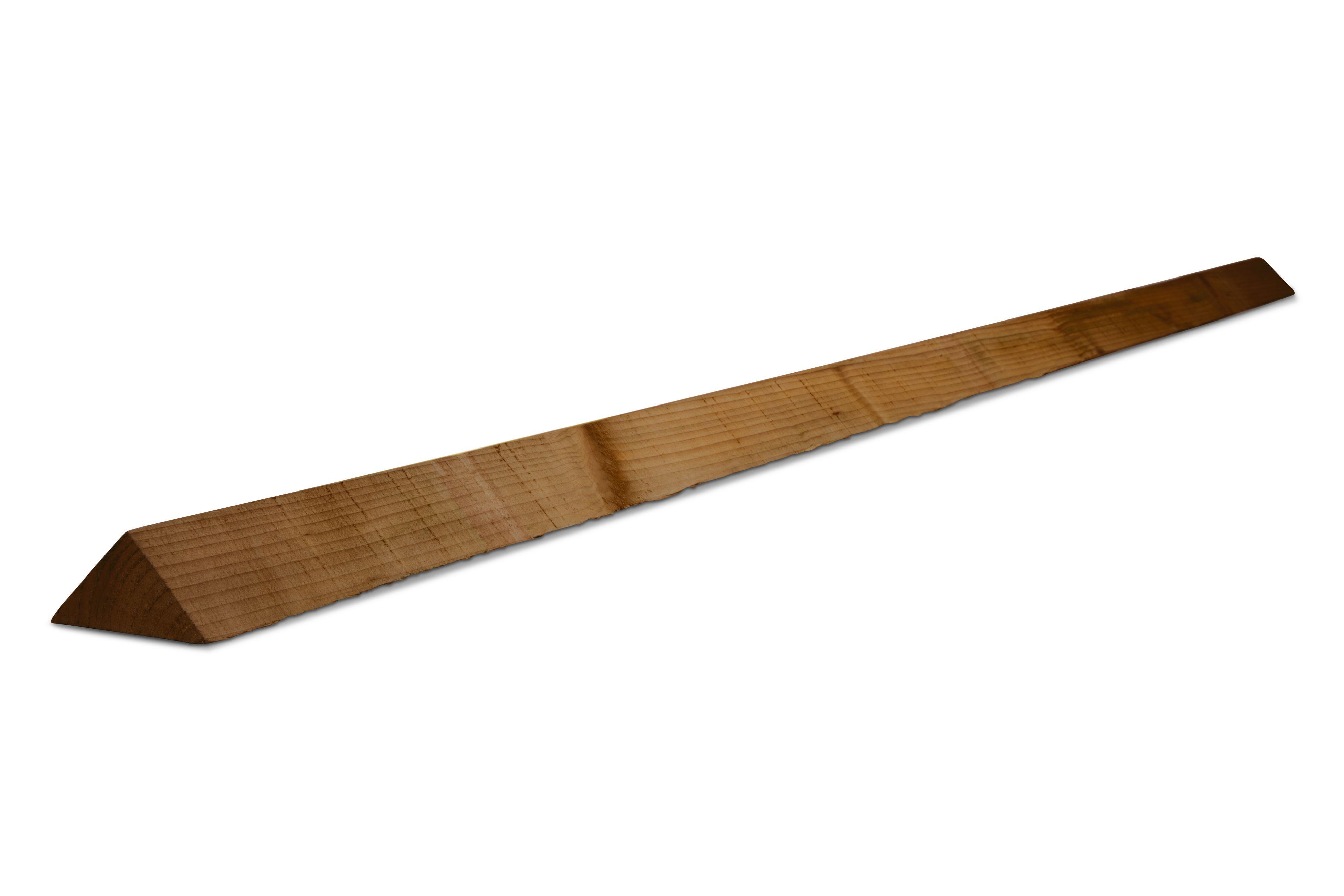 Rough Sawn Spruce Arris Rail (l)2400mm (t)37.5mm