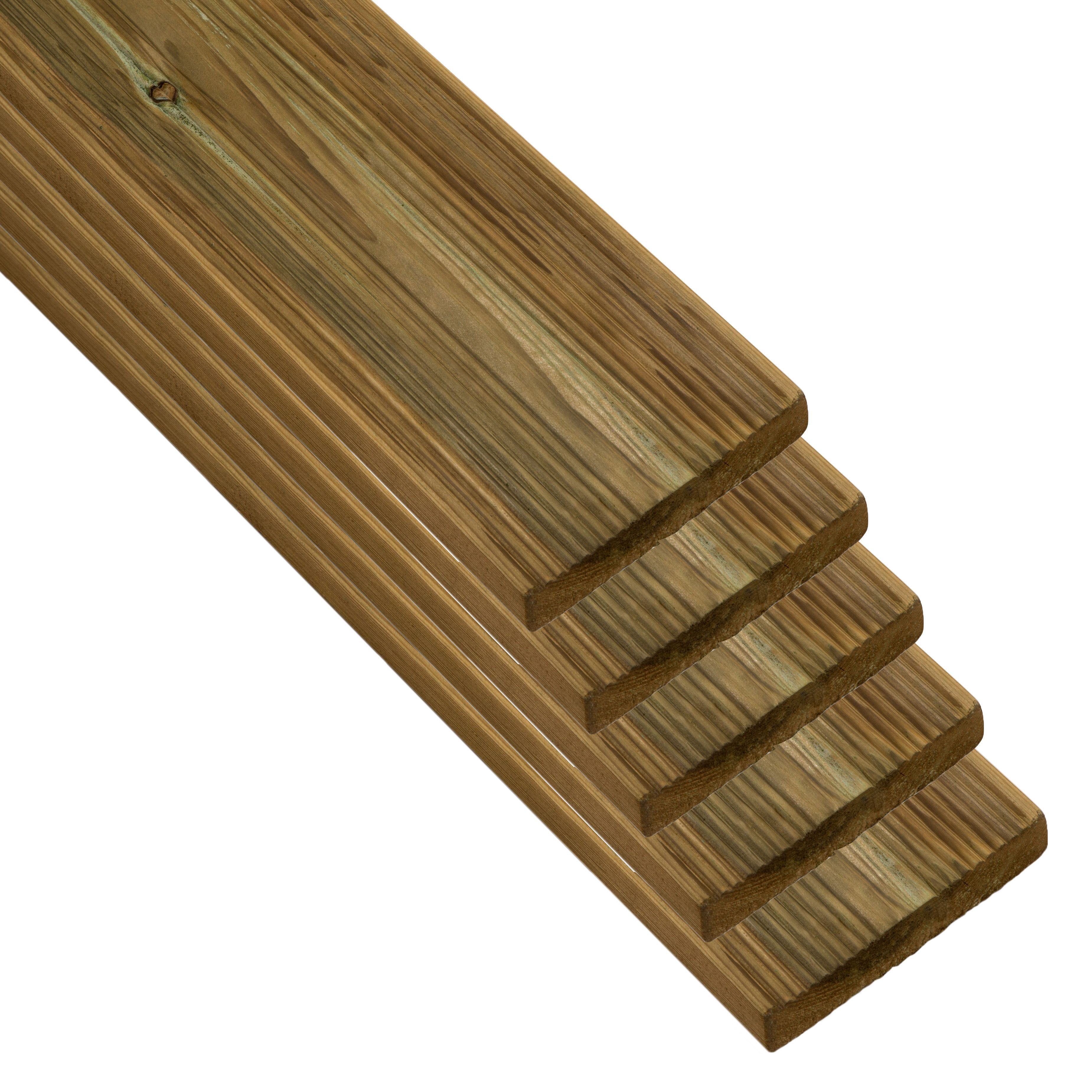 Blooma Nevou Premium Uc4 Deck Board (t)27mm (w)144mm (l)2400mm, Pack Of 5