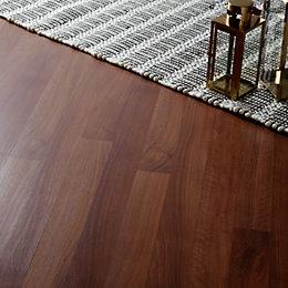 Dolce Walnut Effect Laminate Flooring 1 19 M 178 Pack