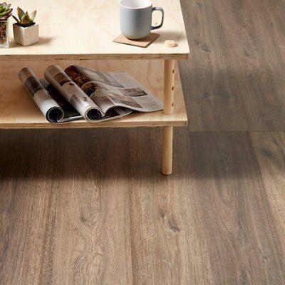 Natural Oak Effect Laminate Flooring Part - 47: Lismore Dark Oak Effect Laminate Flooring 1.996 M² Pack | Departments | DIY  At Bu0026Q