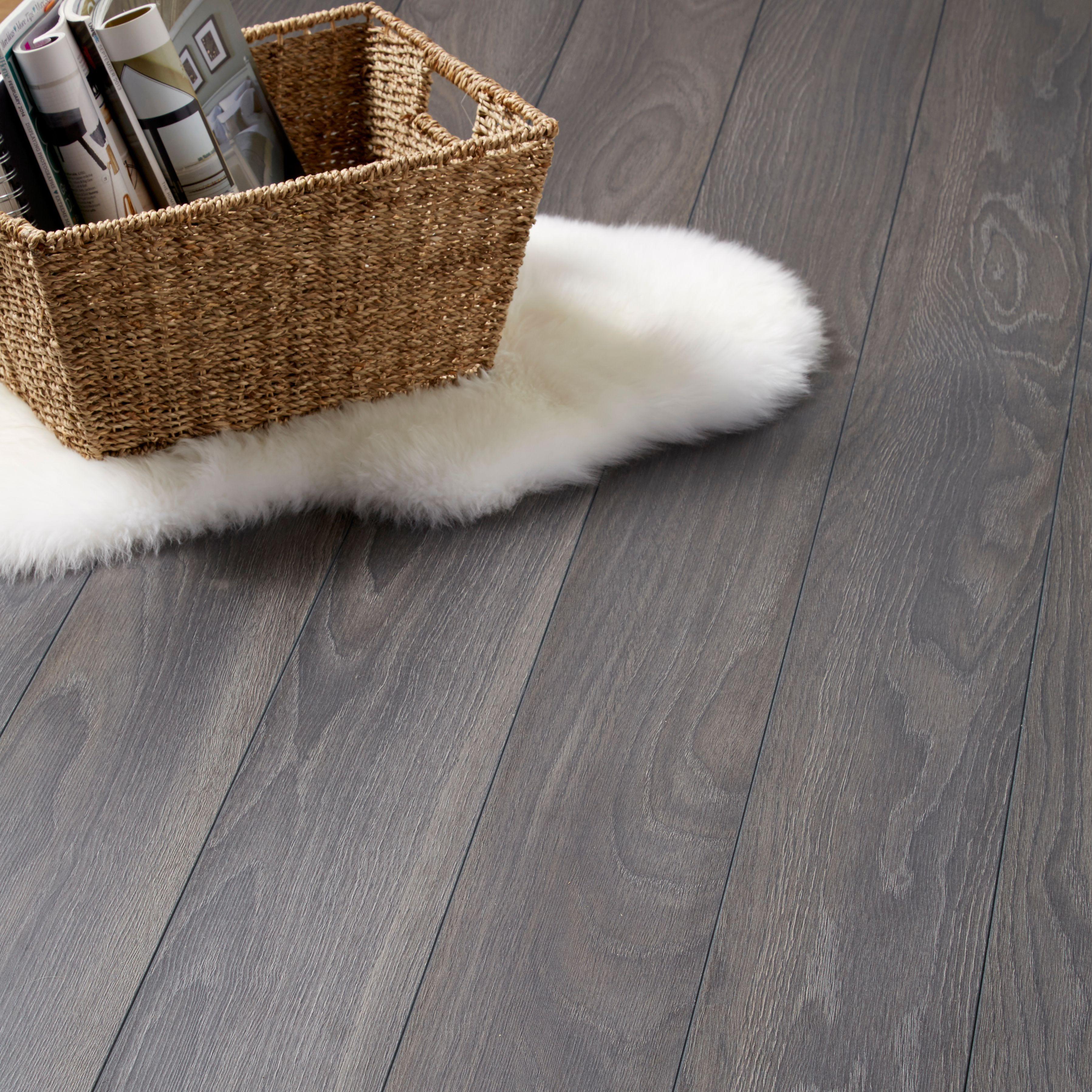 horsham grey oak effect laminate flooring m pack departments diy at bu0026q