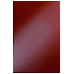 Cooke & Lewis High Gloss Red Contemporary Wall