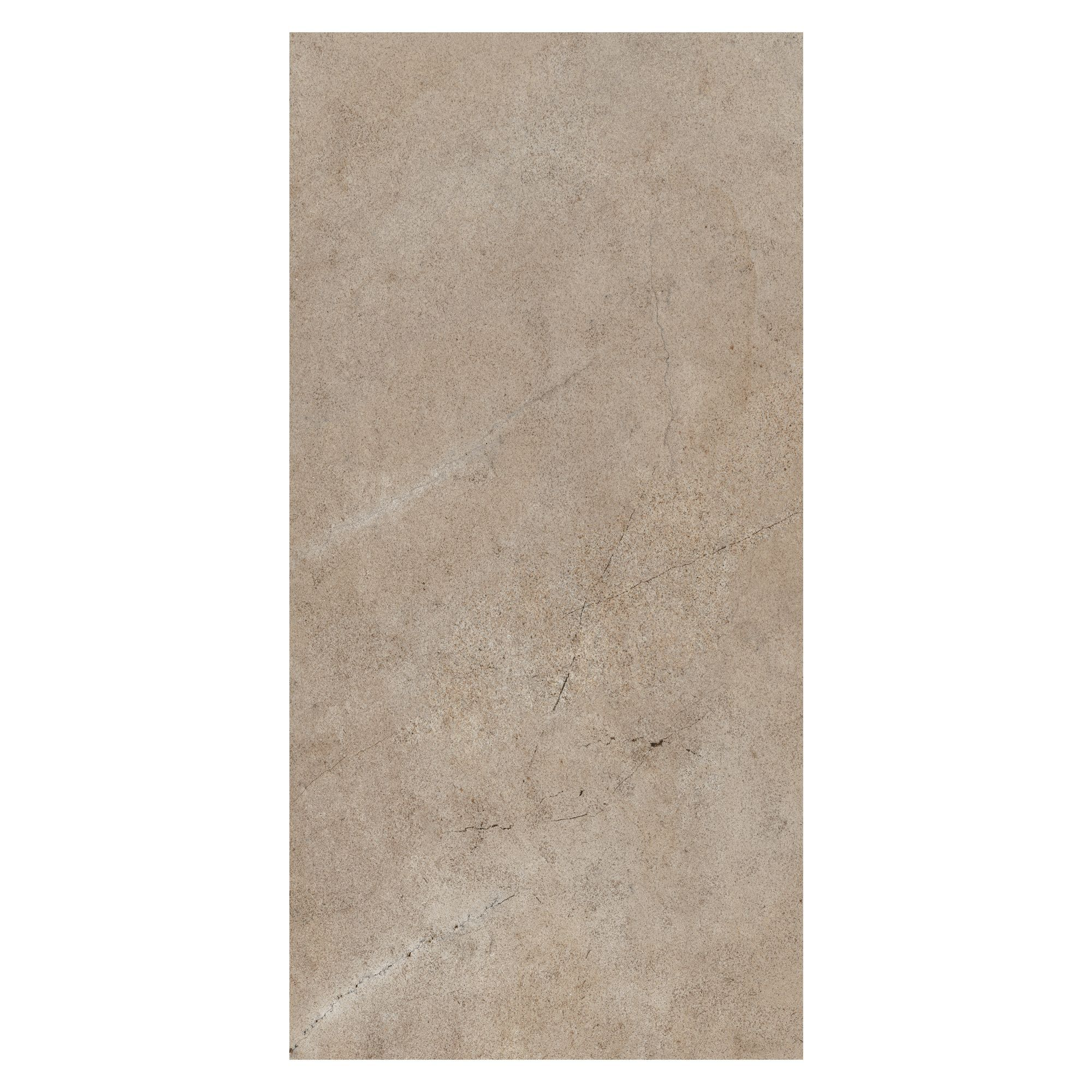 Legend taupe stone effect ceramic wall tile pack of 8 l 500mm w 250mm departments diy at b q - Wall taupe ...