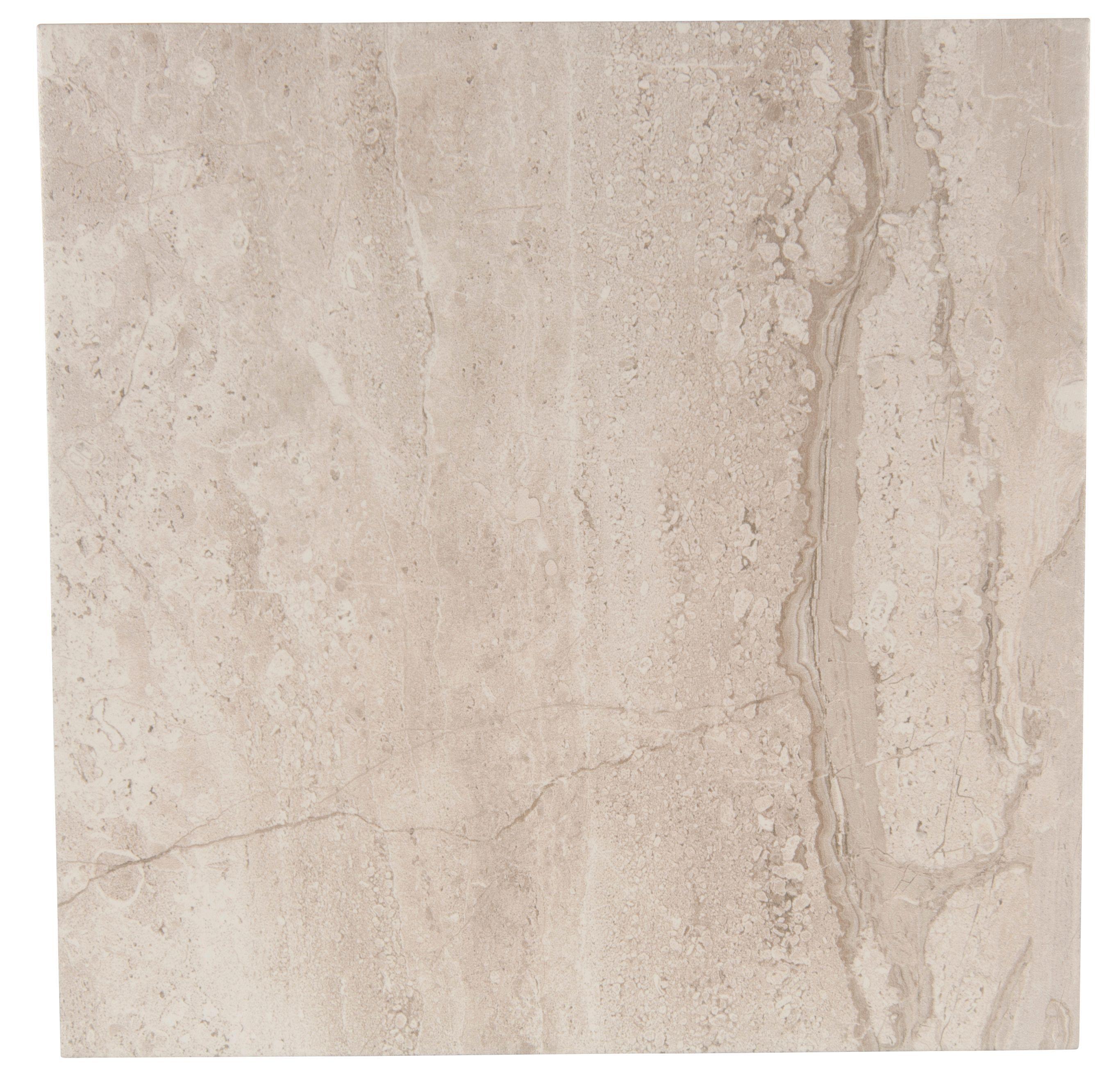 Bali Grey Porcelain Floor Tile, Pack of 9, (L)333mm (W)333mm