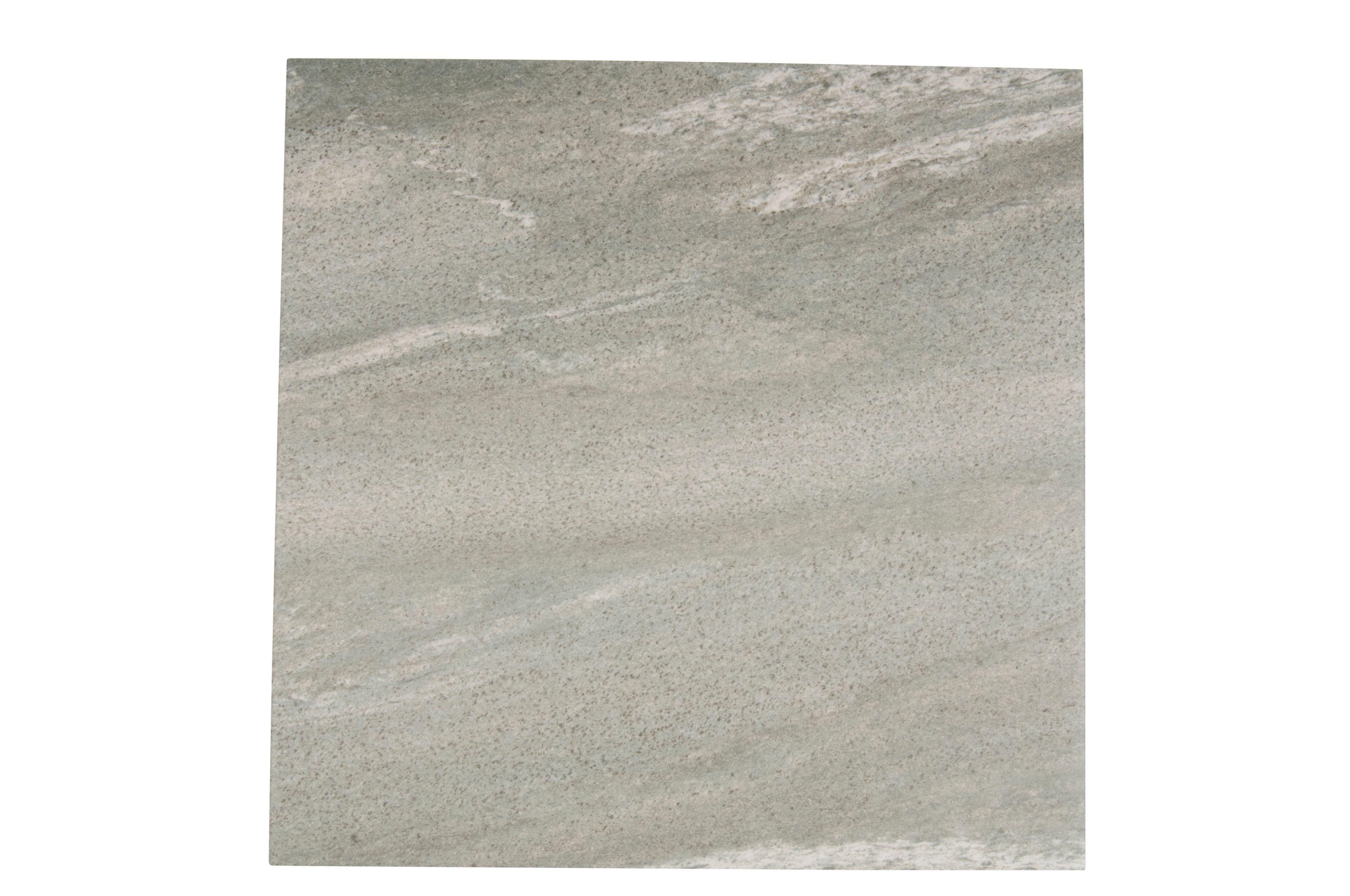 Dolomiti Grey Porcelain Floor Tile, Pack of 5, (L)500mm (W)500mm